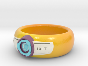 Time Pilot Ring in Coated Full Color Sandstone