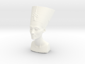 Bust Of Nefertiti At The Neues Museum, Berlin in White Strong & Flexible Polished