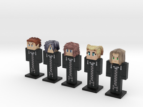Organization XIII- CoM 5-pack (Weaponless) in Full Color Sandstone