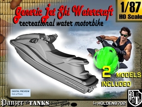 1-87 Generic Jet Ski Set in Frosted Ultra Detail