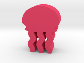 Game Piece, Jellyfish in Pink Strong & Flexible Polished