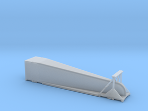 N scale 1/160 Doublestack Arrowedge - aerodynamic  in Frosted Ultra Detail
