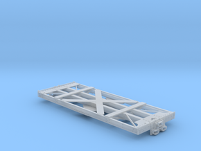 O-Scale D&RGW Dual Gauge Idler X-3050 in Frosted Ultra Detail