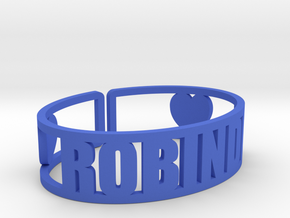 Robindel Cuff in Blue Strong & Flexible Polished