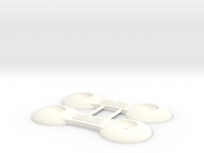 RC10 Wing Things in White Strong & Flexible Polished