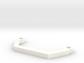 MagDragster - Main Steering Arm in White Strong & Flexible Polished