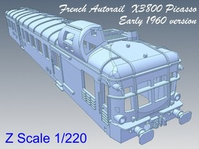 1-220 Autorail X3800 Picasso Early 1960 in Stainless Steel