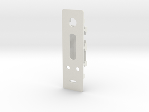 DNA200 DNA75 v1 Faceplate+scrn holder, no buttons in White Strong & Flexible