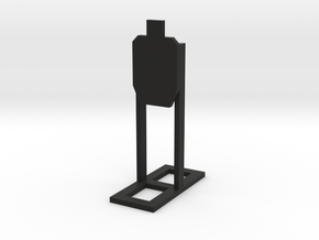 1:24 Standard USPA Target with Stand in Black Strong & Flexible