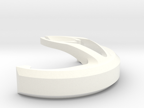 Stick Clip in White Strong & Flexible Polished