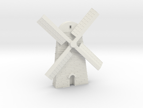 Windmill in White Strong & Flexible