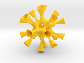 Barth Sextic (Approximately) in Yellow Strong & Flexible Polished