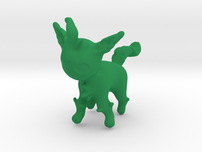 Leafeon in Green Strong & Flexible Polished