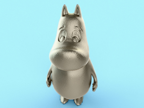 MoominTroll Awake 50mm in White Strong & Flexible