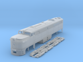 TT Scale ALCo PA-1 in Frosted Ultra Detail
