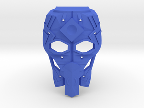 Mask of Intangibility in Blue Strong & Flexible Polished