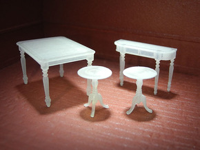 1:48 Colonial Table Set in Frosted Ultra Detail