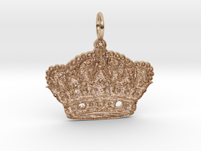 Highness Pendant in 14k Rose Gold Plated