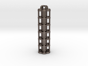 Tritium Lantern 5E (3x50mm/stacked 3x25mm Vials) in Stainless Steel