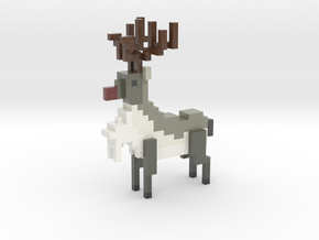 Roe Deer in Coated Full Color Sandstone