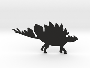 Stegosaurs Clip in Black Strong & Flexible