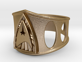 Star Trek 26mm in Polished Gold Steel