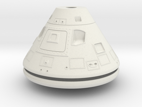 Apollo CM 1-24 Scale Version 2 in White Strong & Flexible
