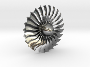 Turbine Alliance gp7200 40mm polished metal in Polished Silver