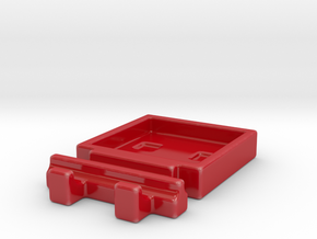 Turbo Buddy Chopstick Rest And Sauce Dish in Gloss Red Porcelain