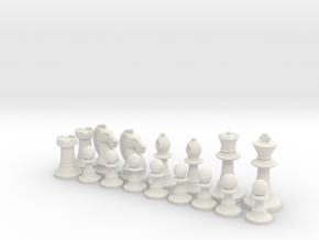 Classic Chess Set in White Strong & Flexible