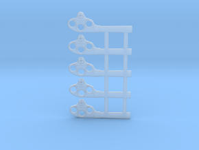 """HO Scale GRS Style A Square Semaphore 42"""" in Frosted Extreme Detail"""