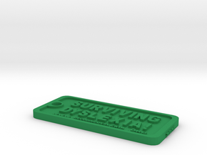 Tag-D-9 in Green Strong & Flexible Polished