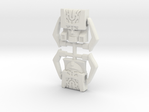 Headmaster, Animated and G1 Two-Pack in White Strong & Flexible
