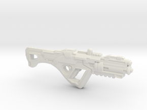 1:18th Scale 'Falcor' Assault Rifle in White Strong & Flexible