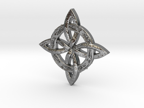 Trinity Pendant in Polished Silver