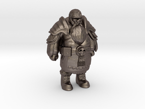 Merged Dwarf-Warrior4-13cm Solid (repaired) in Stainless Steel