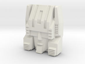 Cerebros, Headmasters Style (Titans Return) in White Strong & Flexible