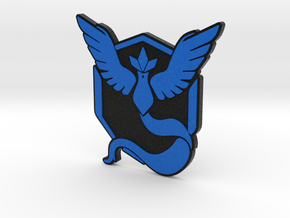 Pokemon Go - Team Mystic Badge 2 in Full Color Sandstone