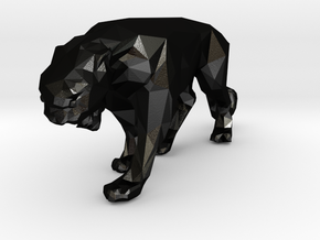 Panther in Matte Black Steel