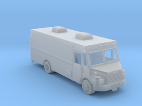 1-87 HO Scale MT-55 Freightliner Step Van in Frosted Ultra Detail