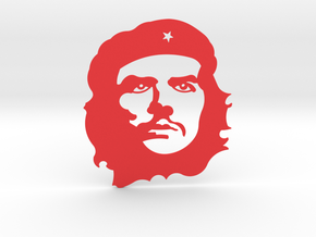Che Guevara in Red Strong & Flexible Polished