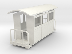 55n9 double balcony closed coach  in White Strong & Flexible
