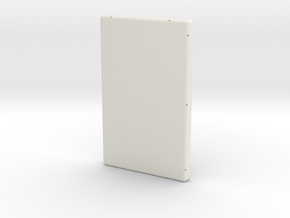 Rear Case in White Strong & Flexible