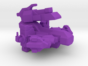 Automated Tanker in Purple Strong & Flexible Polished