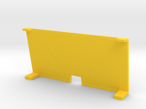 Banner Lit Panel in Yellow Strong & Flexible Polished