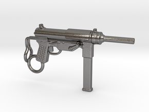 Submachine Gun M3 in Polished Nickel Steel