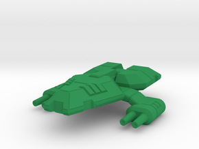 So-10 frog in Green Strong & Flexible Polished