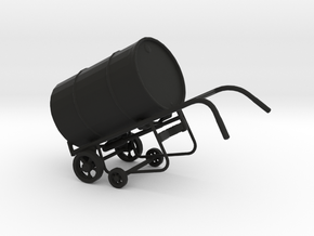 Drum on Dolly, 1/32 in Black Strong & Flexible