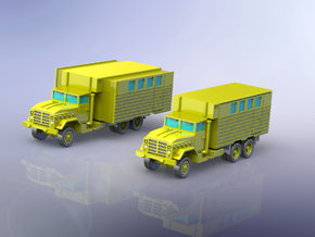 US M934 Truck with Van Body 1/285 in Frosted Ultra Detail