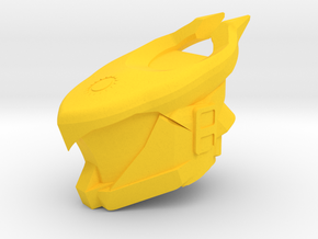 Osiris Bull Helm in Yellow Strong & Flexible Polished